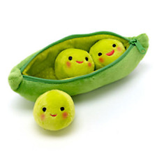 3 Peas-In-A-Pod Soft Cute Creatuve Toy Stoy Plush Toy-8'' Kid Childs Gift USA