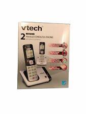 NEW VTech CS6719-2 1.9 GHz Dual Handsets DECT 6.0 Single Line Cordless Phones