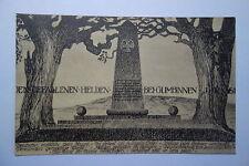 alte Ansichtskarte Gumbinnen  Künstlerkarte  1. Weltkrieg 1914