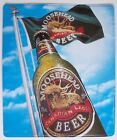 """LARGE 23"""" Moosehead Canadian Lager Tin Tacker Sign"""