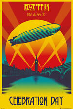 LED ZEPPELIN - Music Poster Fabric Print CELEBRATION DAY 24x32 inch