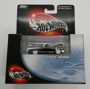 Hot Wheels 100% Limited Edition '57 Chevy Nomad 1:64 #57346 2000 MIB!
