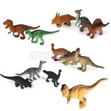12 pcs Vintage Mini Jurassic Dinosaurs Dino Model Figure Kids Children Toys