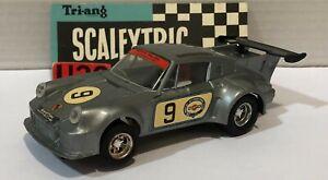 Scalextric C-155 Porsche Carrera Turbo #9 Martini Silver Unboxed