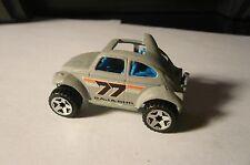 HOT WHEELS 1983  Baja Bug Flat Gray  Malaysia VW Beetle