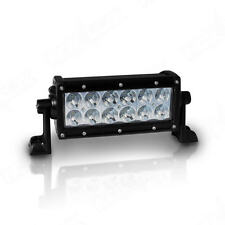 Aurora 6 Inch LED Double Row Off Road Light Bar Combo Dual D 36W 3360 Lumens