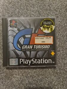 Gran Turismo Real Driving Simulator Sony PS1 Playstation Complete with manual