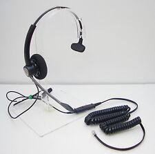 Hw111N-U10 Headset for Cisco 7821 7841 7861 7941 7971 7975 7985 8941 8945 & 8961