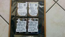 """4xNotebook Festplatte, 2,5"""" SATA, 2x500GB und 2x320GB getestet"""