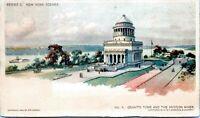 1903 No. 4 Grants Tomb Hudson River Newspaper Promo NYC Postcard