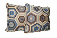 Nordstrom 5045 2 Sets Of Multicolor Shaped Pillows