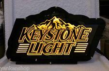 "LD084 Keystone Light Beer Bar Pub Display LED Light 3D Acrylic Sign 12""x7.25"""