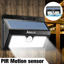 ARILUX LED Solar Power Spot Light  PIR Sensor Garden Outdoor Security Wall Lamp