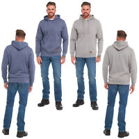 MENS PULL OVER HOODY HOODIE CASUAL HOODED SWEAT SHIRT PLAIN FLEECE SWEATER TOP