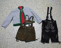 3 tlg. Jungen Kinder Trachten Konvolut in Größe 116 Jacke Hosen L025