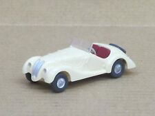 BMW 328 Cabriolet (1938) in creme, o.OVP, Wiking, 1:87