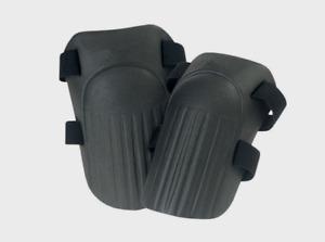 CLC Work Gear Foam KNEE PADS Black 13 in. L x 6 in. W Adjustable One Size V229