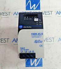 ALLEN BRADLEY 1606-XLS480E-3 SER A POWER SUPPLY 3AC 400-480V DC 24V/20A