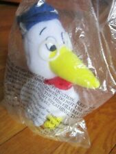"Vtg Vlasic Pickles Stork Bird Plush 9"" NEW in Sealed Plastic Collectible Stuffed"