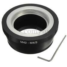 M42 42mm Mount Lens Adapter Ring to Micro M4/3 M43 G1 GH1 GF1 G2 G3 OM EP-2 EPL1
