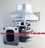 Universal T4 Performance flange turbo charger .70 A/R anti-surge .68 A/R Exhaust