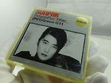 Sunpak 49mm (P01) Green-G11 Camera Lens Filter - Mint condition