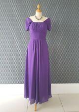 Precioso Vestido largo morado. Talla 10/12. baile de graduación, bola, boda, etc. totalmente forrado.