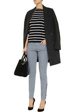 STELLA MCCARTNEY BLUE CROP STRIPED SKINNY JEANS *SIZE 25/UK 6* BNWT *RRP £375*
