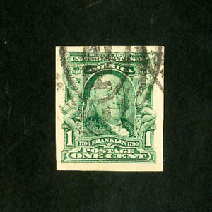US Stamps # 314 Superb Used