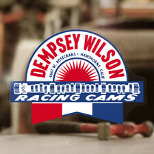 Dempsey Wilson Cams Aufkleber Sticker Rat Racing Hot Rod Old School MOON V8 427