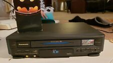 New listing Panasonic Pv-4411 Video Cassette Recorder Vcr Used Tested No Remote
