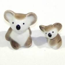 Japanese Arita Porcelain - Pair of Mother-and-Child Koalas