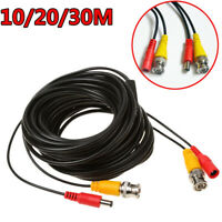 10M 20M 30M BNC DC RCA Video Audio Power Cable for Home Security CCTV Camera