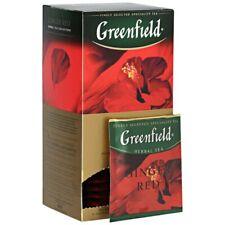 Herbal Tea Bags Greenfield Ginger Red (25 Count Tea Bags)