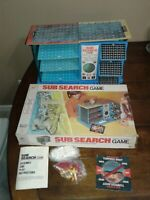 Milton Bradley Sub Search board game 1973 issued 3 level strategy COMPLETE