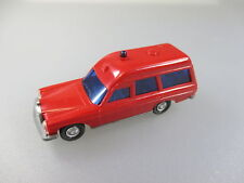 Wiking: mercedes Benz 200/8 bomberos, rojo (coches k17)