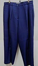 Ladies Saks 5th Ave. Folio Collection  Navy Blue Slacks    Size 18
