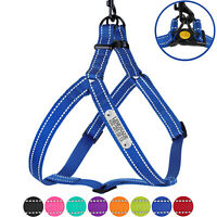 Adjustable Dog Harness Reflective Pet Harnesses for Dogs Personalised ID Name