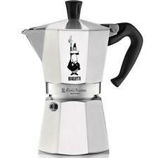 Bialetti Moka Express Stovetop Coffee Maker - High Quality - Aluminium - 3 Cup