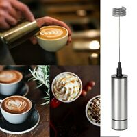 Household Hot Drink Milk Coffee Frother Eggbeater Foamer Electric Mixer Stirrer