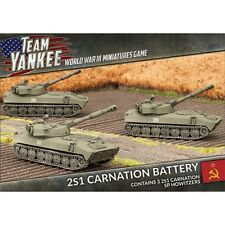 2S1 CARNATION BATTERY TSBX07 (Flames of War TEAM YANKEE) New Factory Sealed