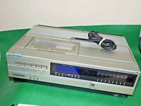SANYO VTC5000 BETAMAX VCR VIDEO CASSETTE RECORDER Vintage Betacord FAULTY