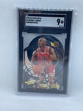 1995-96 Fleer Metal Michael Jordan #4 Maximum Metal SGC 9 ~ Chicago Bulls