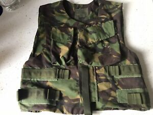 Genuine British Army Military Cover Combat Body Armour Vest 44 Ins L Xl Used