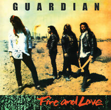 GUARDIAN – Fire + Love (NEW*LIM.ED. + BONUS TR.*US WHITE MELODIC METAL*STRYPER)