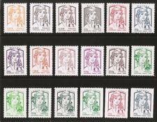 2013 Série COMPLETE  n° 4763 à 4780 Marianne de CIAPPA  Neufs** LUXE MNH