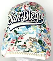 Robin Ruth Womens San Diego Flower Pattern Hat Cap