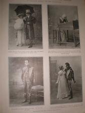 Photo article Seymour Hicks Ellaline Terriss in Quality Street 1902 ref Z