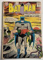 Detective Comics #156 Batman & Robin / Robin Dies 1963 Vintage Old Comic