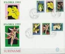 Suriname republiek 1992 FDC E152A+B onbeschreven open klep